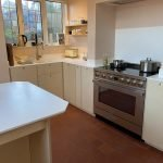 electric oven and extractor fan installation